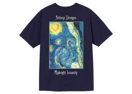 Stussy Midnight Insanity Tee Navy (SS21)の写真