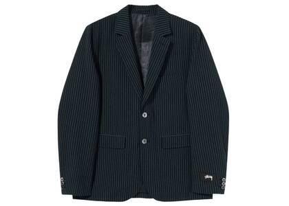 Stussy Stripe Seersucker Sport Coat Blue (SS21)の写真