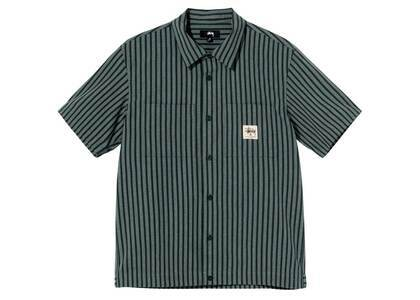 Stussy Striped Garage Shirt Stripe (SS21)の写真