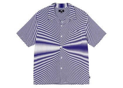 Stussy Psychedelic Check Shirt White (SS21)の写真