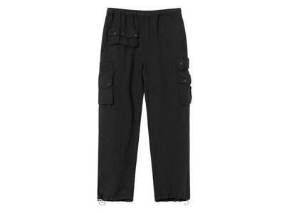 Stussy Linen Utility Pant Black (SS21)の写真