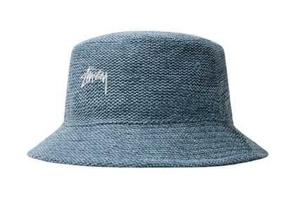 Stussy Jute Weave Bucket Hat Blue (SS21)の写真