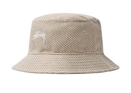 Stussy Jute Weave Bucket Hat Natural (SS21)の写真