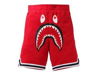 Bape Shark Basketball Sweat Shorts Red (SS21)の写真