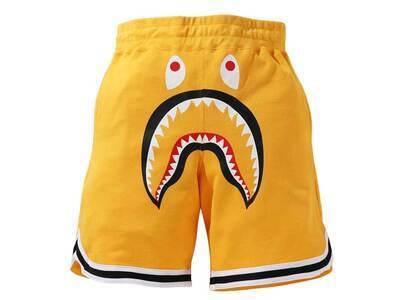 Bape Shark Basketball Sweat Shorts Yellow (SS21)の写真