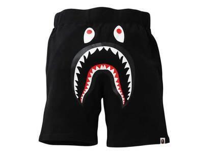 Bape Shark Sweat Shorts Black (SS21)の写真