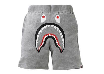 Bape Shark Sweat Shorts Gray (SS21)の写真