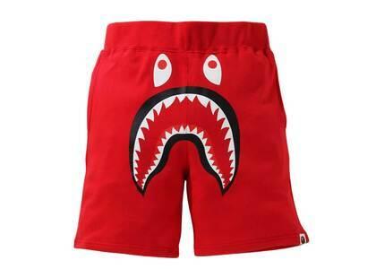 Bape Shark Sweat Shorts Red (SS21)の写真