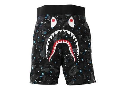 Bape Space Camo Shark Sweat Shorts Black (SS21)の写真