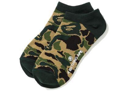 Bape ABC Camo Short Socks (SS20) Green (SS20)の写真
