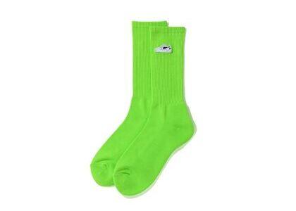 Bape Bapesta One Point Socks Green (SS20)の写真