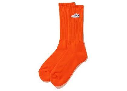 Bape Bapesta One Point Socks Orange (SS20)の写真