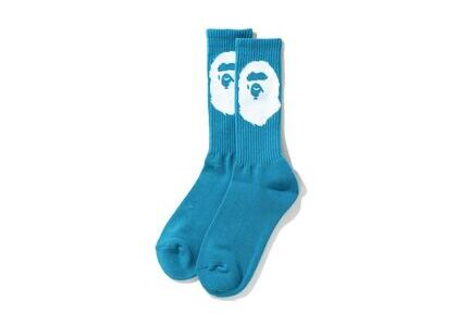 Bape Big Ape Head Socks Blue (SS20)の写真