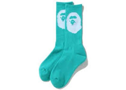 Bape Big Ape Head Socks Sax (SS20)の写真