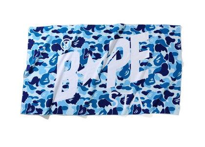 Bape ABC Camo Bapesta Beach Towel Blue (SS20)の写真
