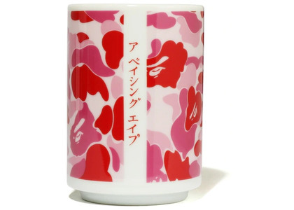 Bape ABC Camo Japanese Tea Cup Pink (SS20)の写真