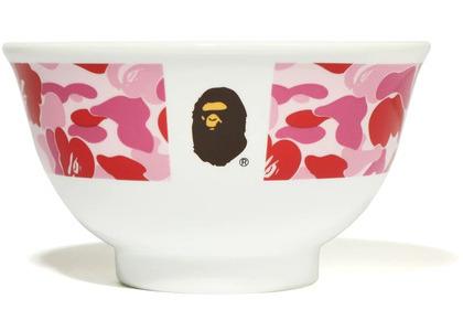 Bape ABC Camo Rice Bowl Pink (SS20)の写真