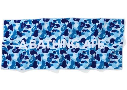 Bape ABC Camo Sports Towel Blue (SS20)の写真