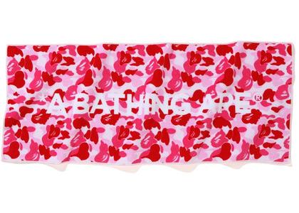 Bape ABC Camo Sports Towel Pink (SS20)の写真