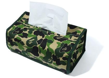 Bape ABC Camo Tissue Cover Green (SS20)の写真