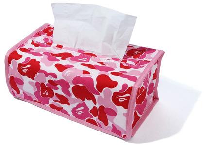 Bape ABC Camo Tissue Cover Pink (SS20)の写真