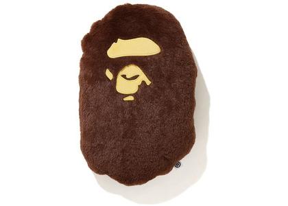 Bape Ape Head Cushion Brown (SS20)の写真