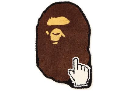 Bape Ape Head Online Rug Brown (SS20)の写真