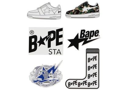 Bape Bapesta Stickers Multi (SS20)の写真