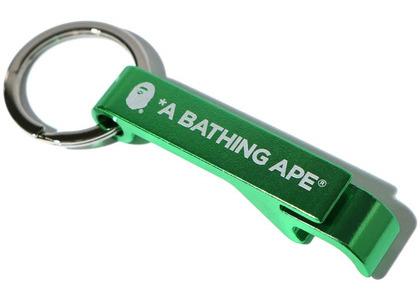 Bape Bottle Opener Keychain Green (SS20)の写真