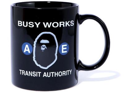 Bape Busy Works Mug Black (SS20)の写真