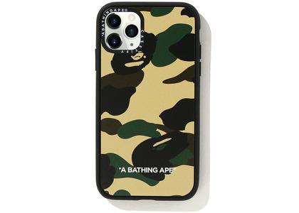 Bape Casetify 1st Camo iPhone 11 Pro Case Yellow (SS20)の写真