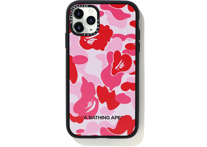 Bape Casetify ABC Camo iPhone11 Pro Case Pink (SS20)の写真