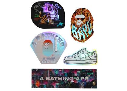 Bape Neon Tokyo Stickers Multi (SS20)の写真
