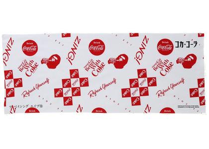 Bape x Coca Cola Japanese Hand Towel White (SS20)の写真