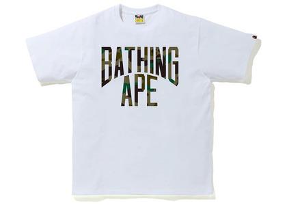 Bape 1st Camo NYC Logo T White/Green (SS20)の写真
