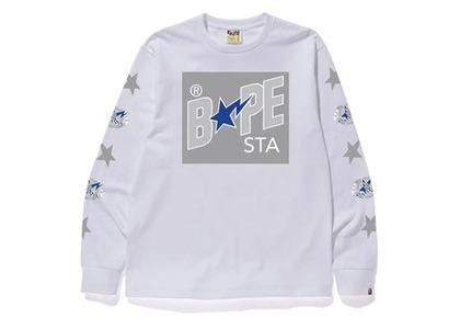 Bape Bapesta Box L/S T White (SS20)の写真