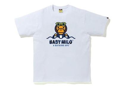 Bape Color Camo Milo Float Summer T-Shirt White/Blue (SS20)の写真