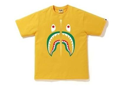 Bape Colors Shark T-Shirt Yellow/Blue (SS20)の写真