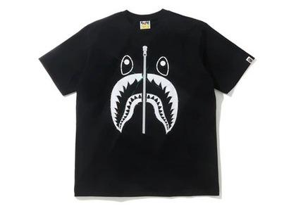 Bape Crystal Stone Shark T-Shirt Black (SS20)の写真