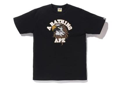 Bape Eagle College T Black (SS20)の写真