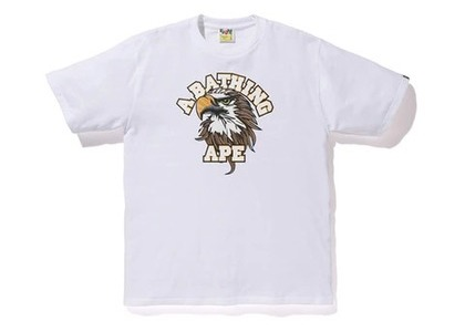 Bape Eagle College T White (SS20)の写真