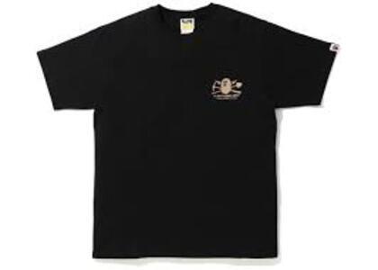 Bape Gold Rush Foil T #1 Black (SS20)の写真