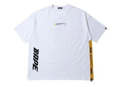 Bape in Transit 3/4 T-Shirt White (SS20)の写真