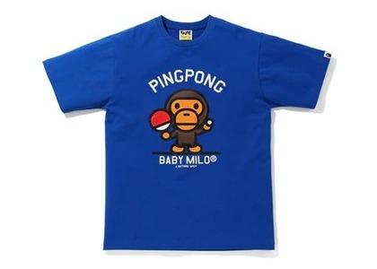 Bape Milo Pingpong Sports T Blue (SS20)の写真