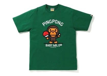 Bape Milo Pingpong Sports T Green (SS20)の写真