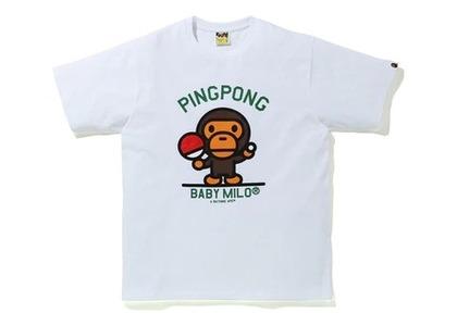 Bape Milo Pingpong Sports T White (SS20)の写真