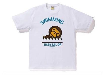 Bape Milo Swimming Sports T White (SS20)の写真
