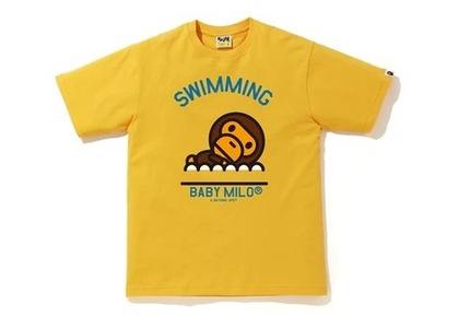 Bape Milo Swimming Sports T Yellow (SS20)の写真