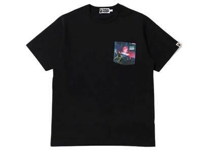 Bape Neon Tokyo Pocket T Black (SS20)の写真