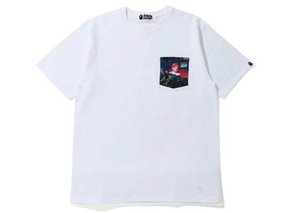 Bape Neon Tokyo Pocket T White (SS20)の写真